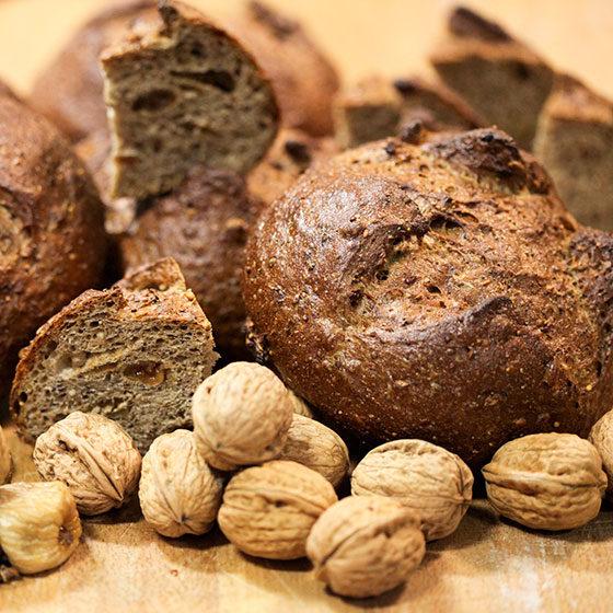 chia e quinoa pane noci e fichi