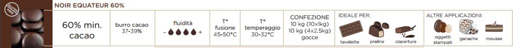 CIOCCOLATO PURO 60%