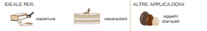 cioccolato surrogato fondente per coperture