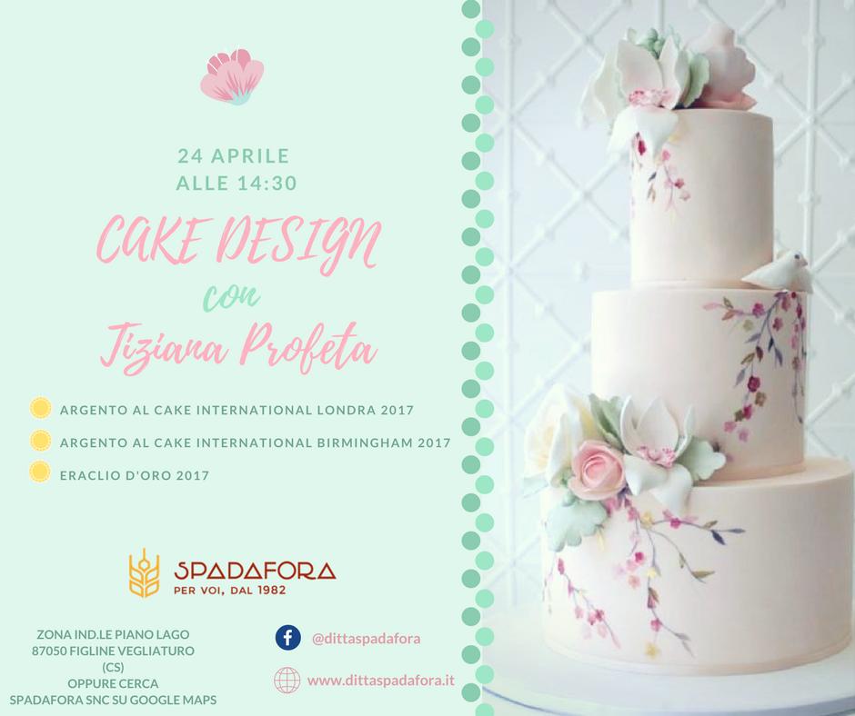CORSO CAKE DESIGN PROFESSIONALE A COSENZA CON TIZIANA PROFETA