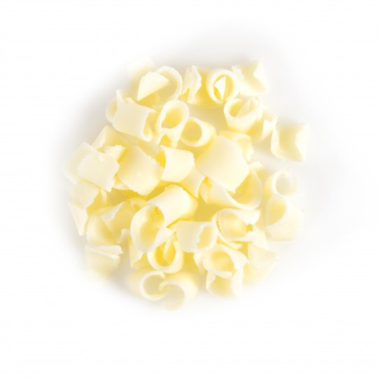 Trucioli di cioccolato bianco